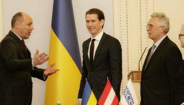 Голова ОБСЄ запевнив Парубія: Вирішення проблем Донбасу - пріоритетне