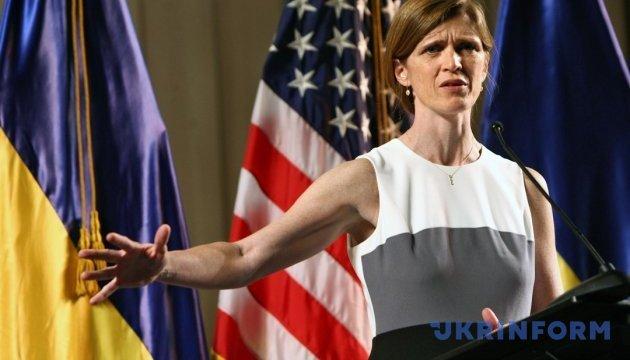 Пауер пояснила, чим загрожує послаблення санкцій проти Росії