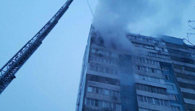 У Дніпрі горіла багатоповерхівка: рятувальники евакуювали 200 людей