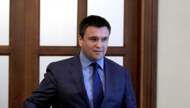 FM Klimkin tomorrow to participate in the Visegrad Group ministerial meeting