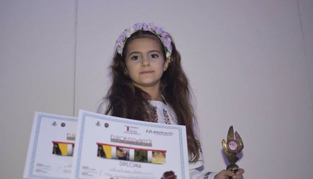 8-річна українка з Кіпру перемогла у пісенному конкурсі