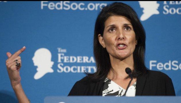 """Хейли назвала """"войной"""" вмешательство России в американские выборы"""