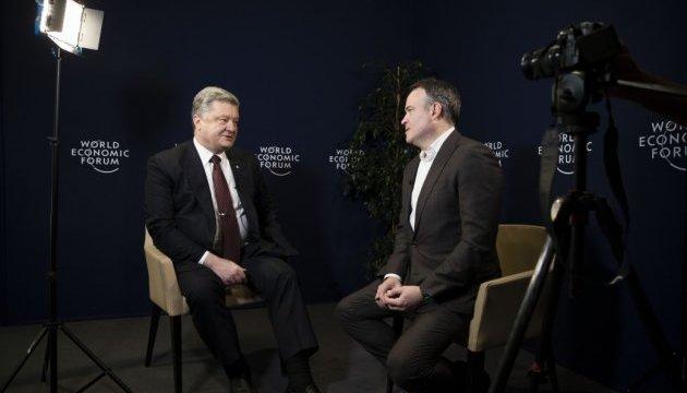 Президент: Украина и США защищают общие ценности