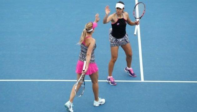 Савчук успешно стартовала в парном разряде Australian Open