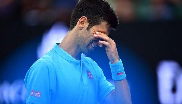 Сенсація: Джокович на Australian Open програв тенісисту з Узбекистану