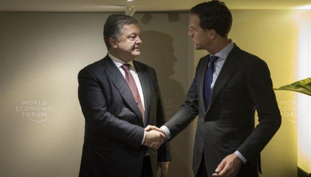 Прем'єр Нідерландів підтвердив необхідність продовження санкцій проти РФ