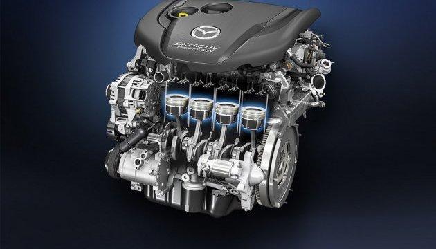Mazda розробила бензинові двигуни без свічок запалювання