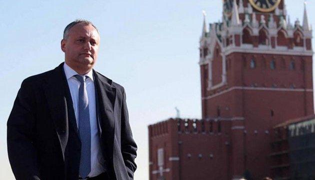 Додон предлагает, чтобы Кишинев расплатился с миллиардными долгами Приднестровья за газ