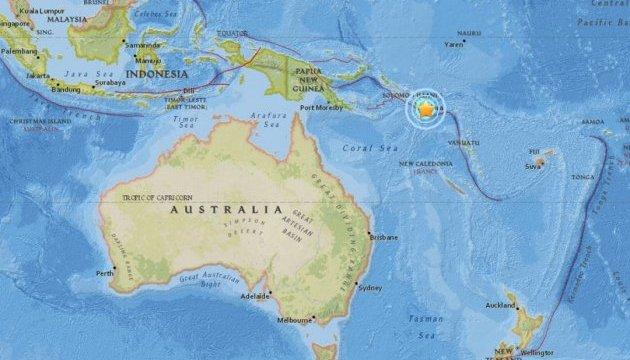 На Соломонових островах стався черговий потужний землетрус