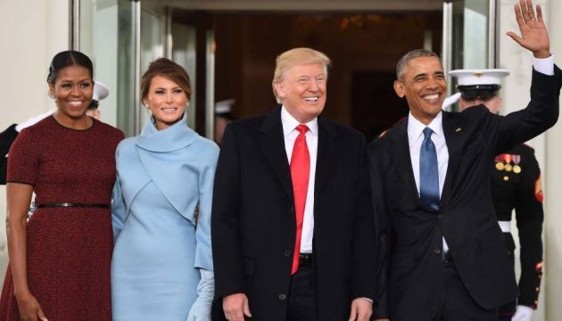 Обамы передают Трампам Белый дом