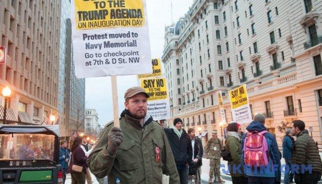Демонстрантів проти Трампа у Вашингтоні розганяли перцевим газом