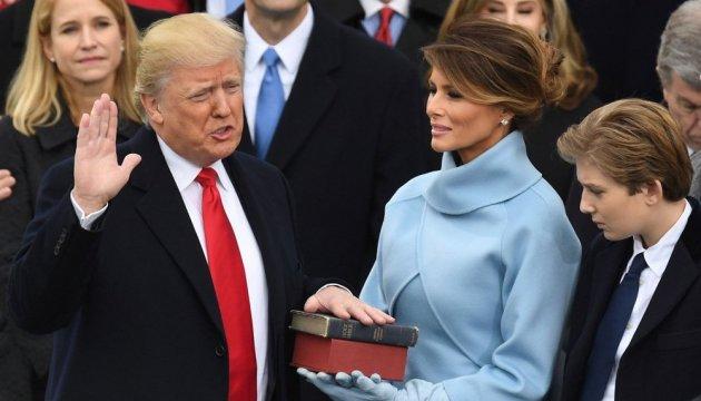 Трамп принял присягу и официально стал президентом США