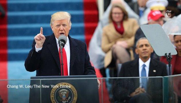 Речь Трампа: критика