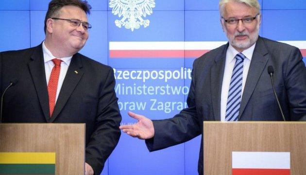 Литва і Польща обмінялися думками щодо Трампа та імперської політики Росії