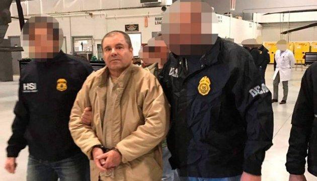 Мексиканський наркобарон не визнав вини в жодному з 17 пунктів обвинувачення