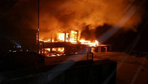В Бухаресте сгорел дотла ночной клуб, пострадали 38 человек