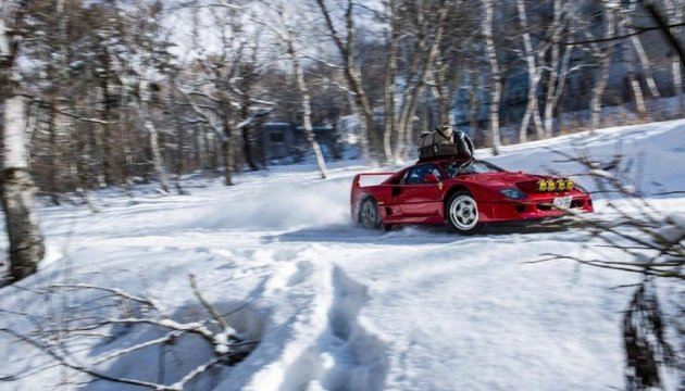 First national winter drift competition kicks off in Vinnytsia