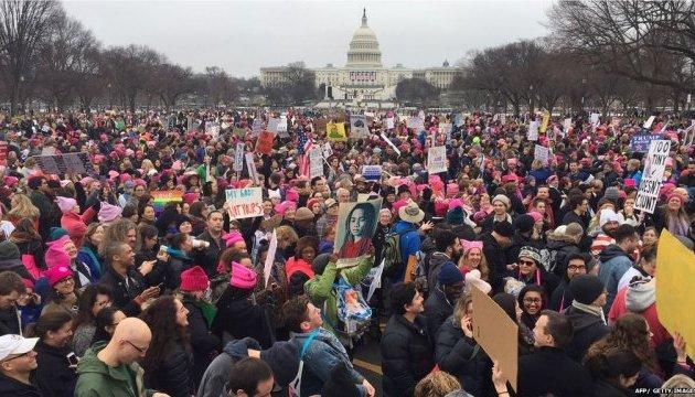 У Вашингтоні розпочалася акція протесту - Марш жінок