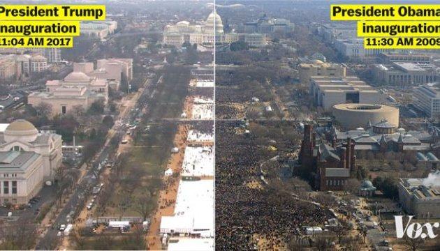 Трамп тисне на Службу парків, щоб знайти аргументи про натовп на інавгурації - WP