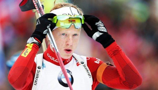 Біатлон: норвежець Бьо виграв мас-старт в Антхольці, Семенов - 18-й