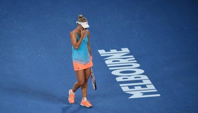 Australian Open: Кербер сенсаційно програла Вандевеге і не потрапила до 1/4 фіналу