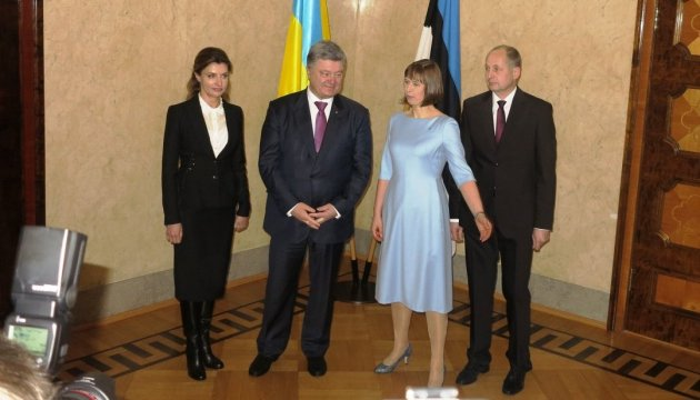 Poroshenko holds talks with Estonian President