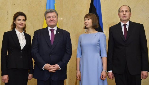 Sanctions against Russia may be canceled only after full implementation of Minsk agreements – joint statement of presidents of Ukraine and Estonia