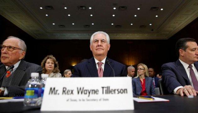 Международный комитет Сената США поддержал Тиллерсона на посту госсекретаря