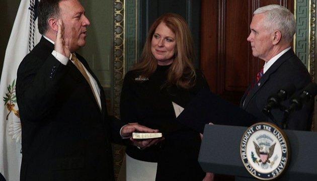 Майка Помпео привели к присяге на посту нового главы ЦРУ