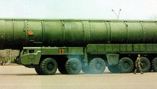 Китай розмістив балістичні ракети біля кордону з Росією - ЗМІ