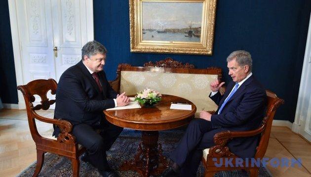 Підстав для зняття санкцій з РФ немає - президент Фінляндії