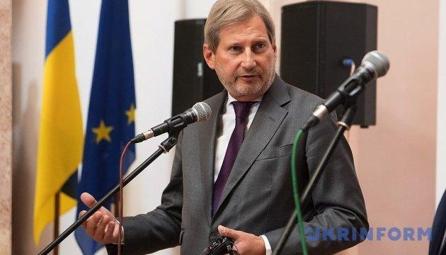 Климпуш-Цинцадзе пояснила єврокомісару Хану причини