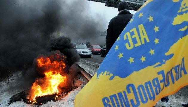 Блокування в'їзду до Києва триватиме до 21.00 – Укравтодор