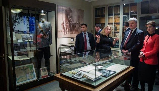 Порошенко посетил музей маршала Маннергейма