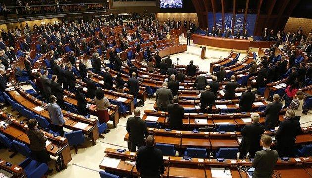 В.Ар'єв: Генсек РЄ закликав депутатів зняти санкції зРФ