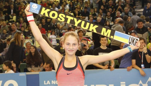 Украинка вышла в четвертьфинал юниорского Australian Open