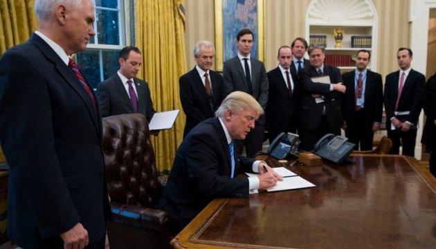 США побудують стіну на кордоні з Мексикою - Трамп підписав указ