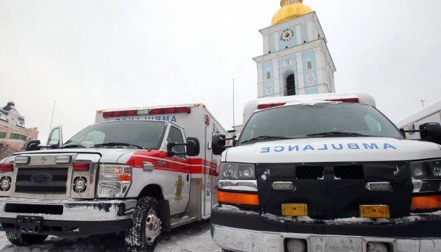Canadian Ambassador hands over ten ambulances to Ukrainian medical institutions