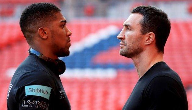 На матче Джошуа - Кличко ожидается британский боксерский рекорд посещаемости