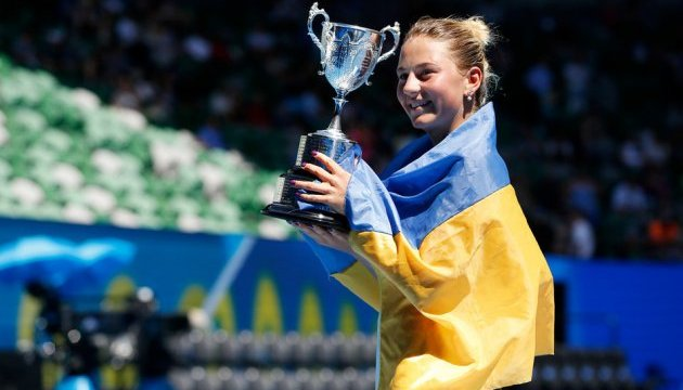 Чотирнадцятирічна українка виграла Australian Open