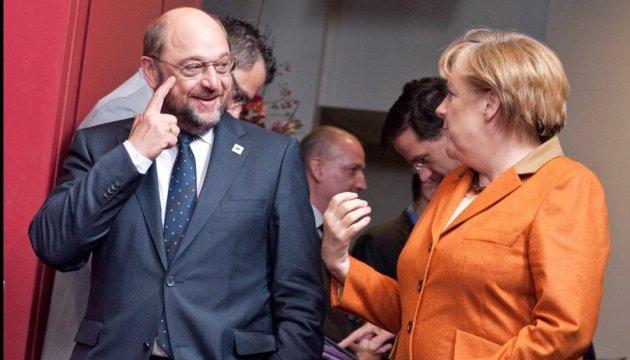 Вибори до бундестагу: СДПН і Шульц продовжують