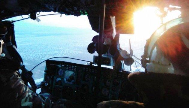 Военные моряки отрабатывают задачи по усилению охраны госграницы