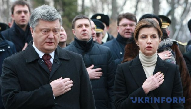Порошенко: Поезія Олеся показує, як треба любити Україну