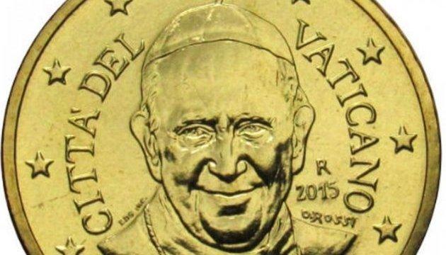 Ватикан больше не будет чеканить монеты евро с изображением Папы Франциска