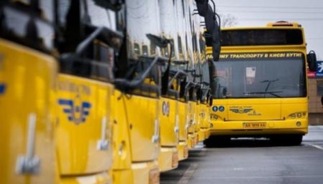 Як змінили маршрути автобуси й тролейбуси в столиці