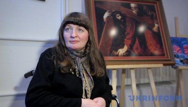 В Укрінформі відкрили виставку творів митців з інвалідністю