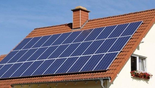 В Украине число домохозяйств с солнечными панелями возросло в 4 раза