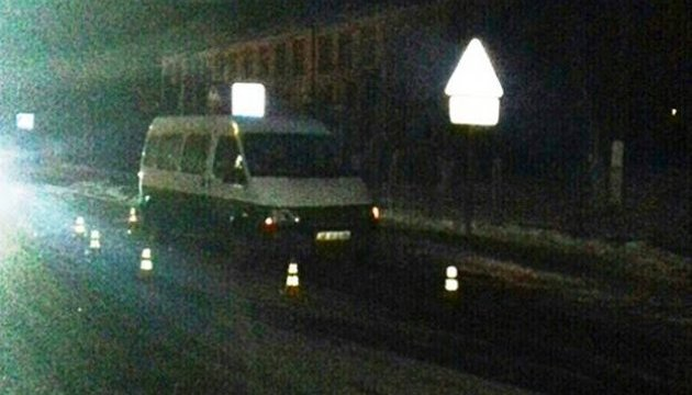 На Вінниччині мікроавтобус збив на переході восьмирічного хлопчика