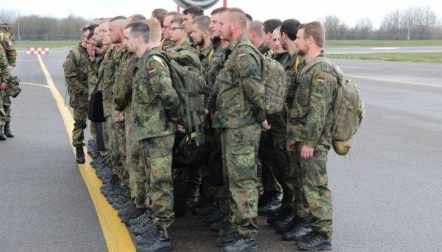 На початку лютого у Литву прибудуть понад 450 німецьких військових
