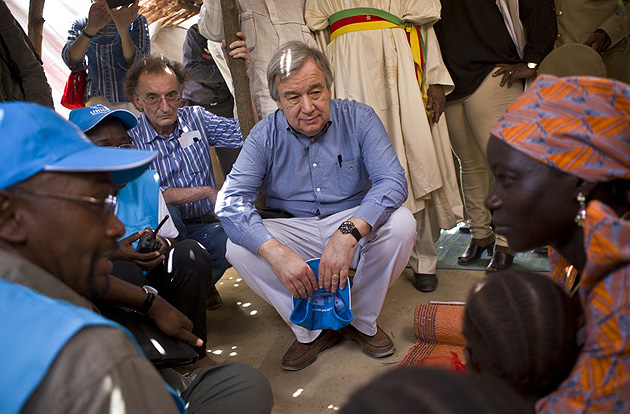 Антоніу Гутерреш / Фото: UNHCR / HELENE CAUX